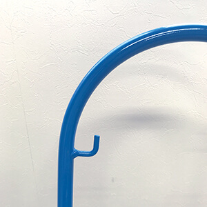 青いソリのフック