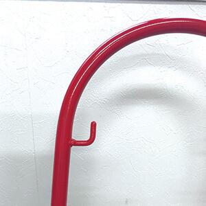 赤いソリのフック